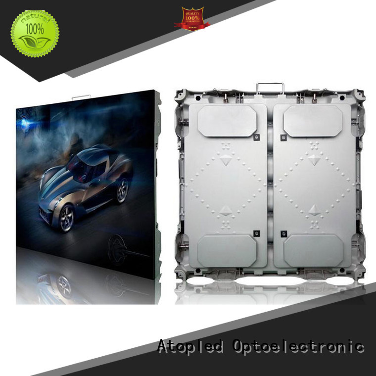 Atop high quality led screen hire super in market