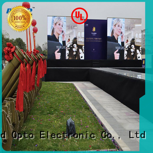 Atop excellent rental led display screen easy assembling for indoor rental led display