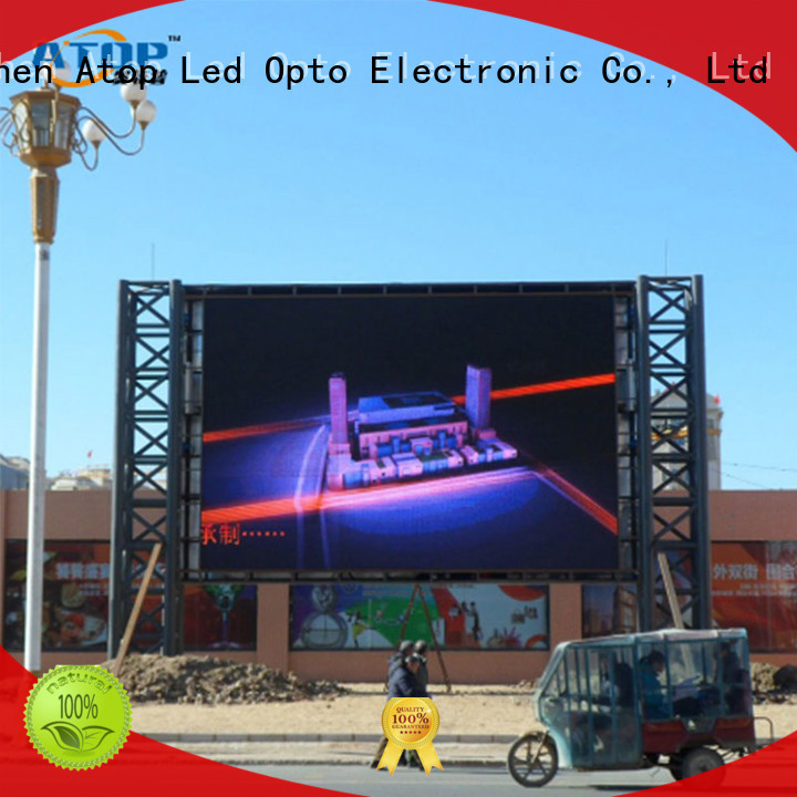 automatically led display price display with high precision for company advertising