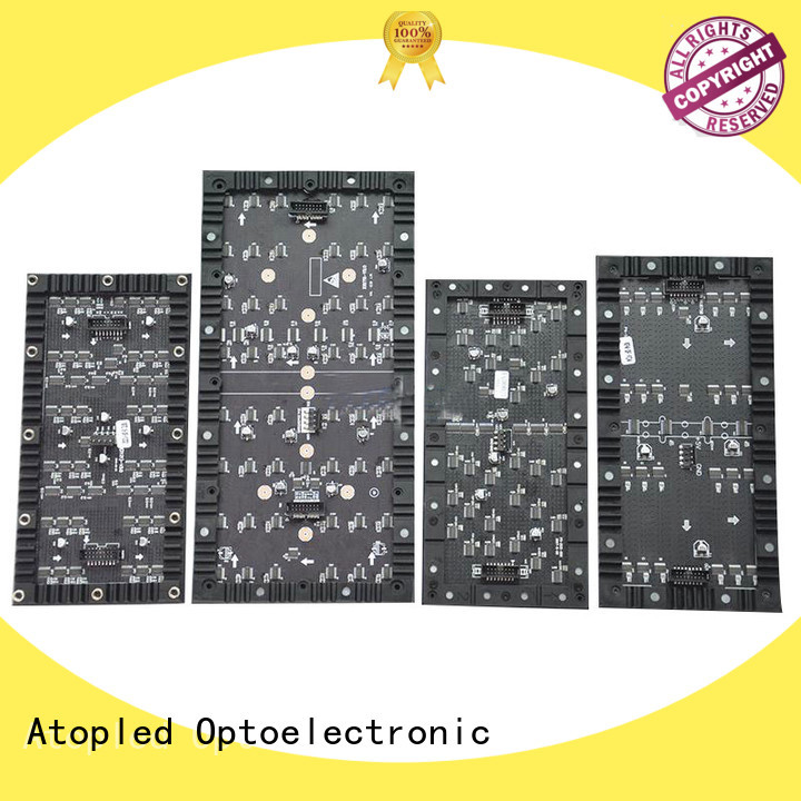 Atop creative flexible led screen easy to assemble for shopping mall