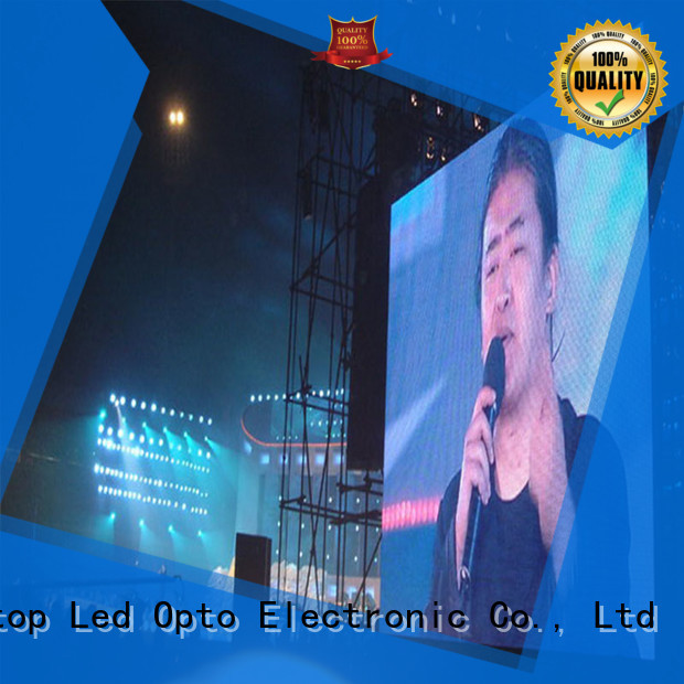 Atop high quality hd led video wall with high precision in market