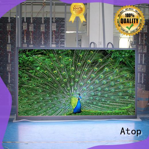 excellent led rental display stage easy assembling for indoor rental led display