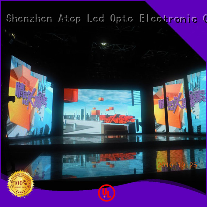 Atop panels rental led display screen with high-quality for LED screen