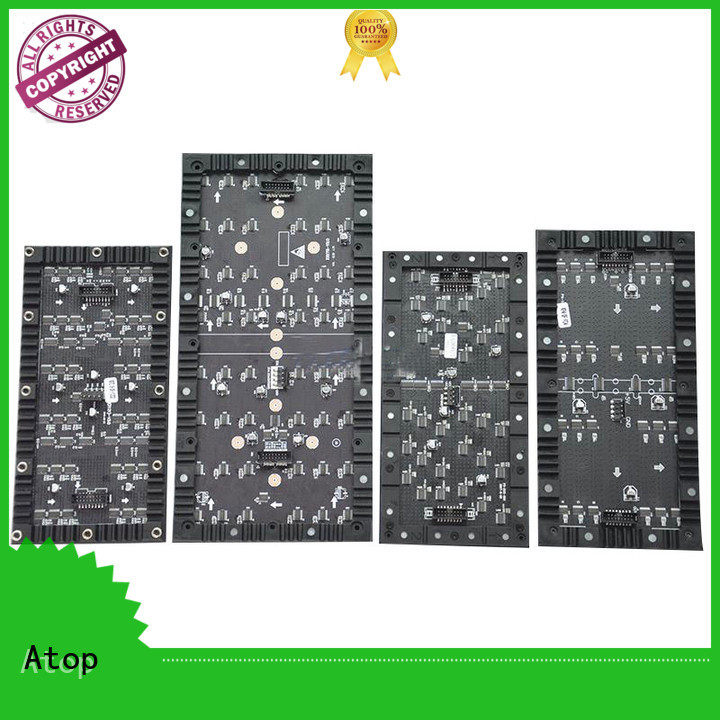 curtain led pixel panel easy to assemble for shopping mall Atop
