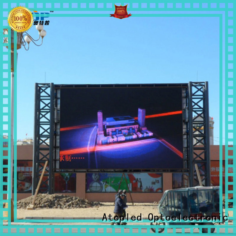 automatically advertising led display quality easy maintenance in market