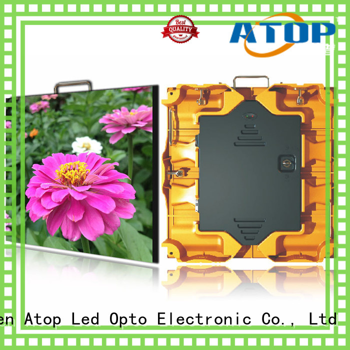reliability outdoor led display board perimeter easy maintenance for both outdoor and indoor