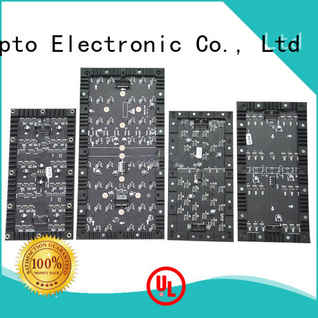 Atop customized flexible led display easy to assemble for shopping mall