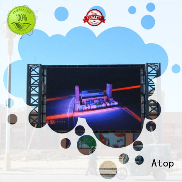Atop quality rental led panel with high precision in market