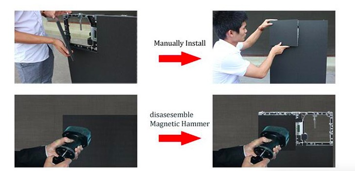 Atop priced-low indoor led display screen easy assembling for indoor rental led display-4