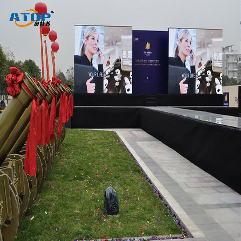 P4.81 Outdoor Led Display Full color rental led screen