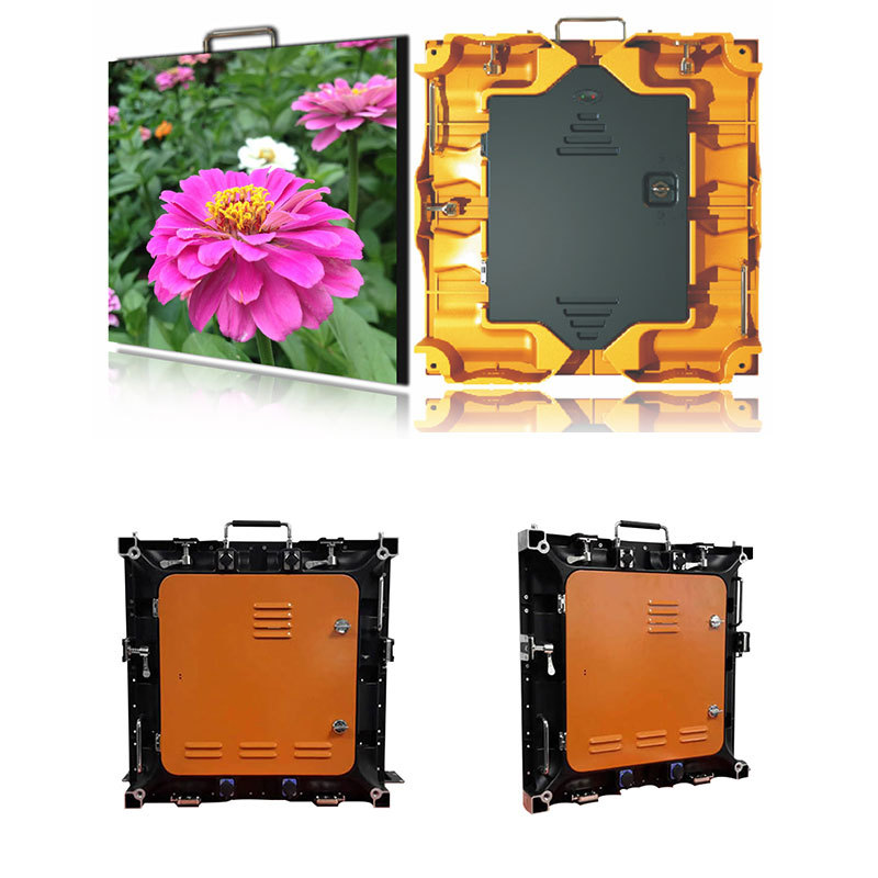 Atop custom outdoor led display panels with high precision for company advertising