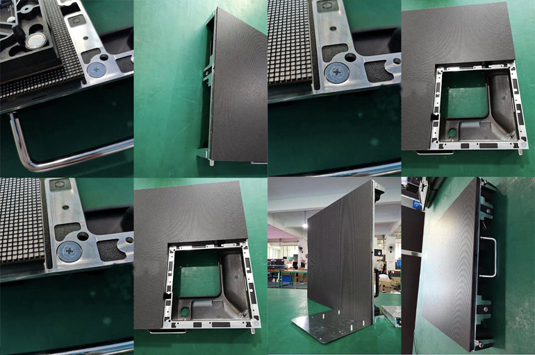 priced-low display screen portable easy assembling for LED screen