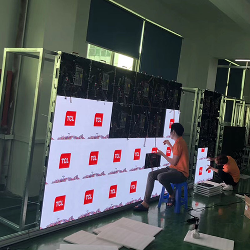 Atop wall led screen on rent easy assembling for LED screen-1