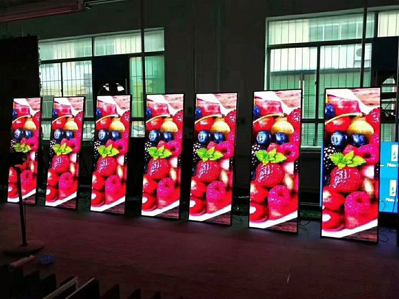 P2.5/P3 led poster screen for front maintenance 10pcs to Dubai