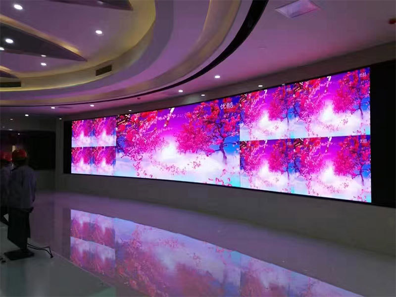 China P1.667mm HD LED VIDEO WALL, Size 9mx2m for one traffic command center in China