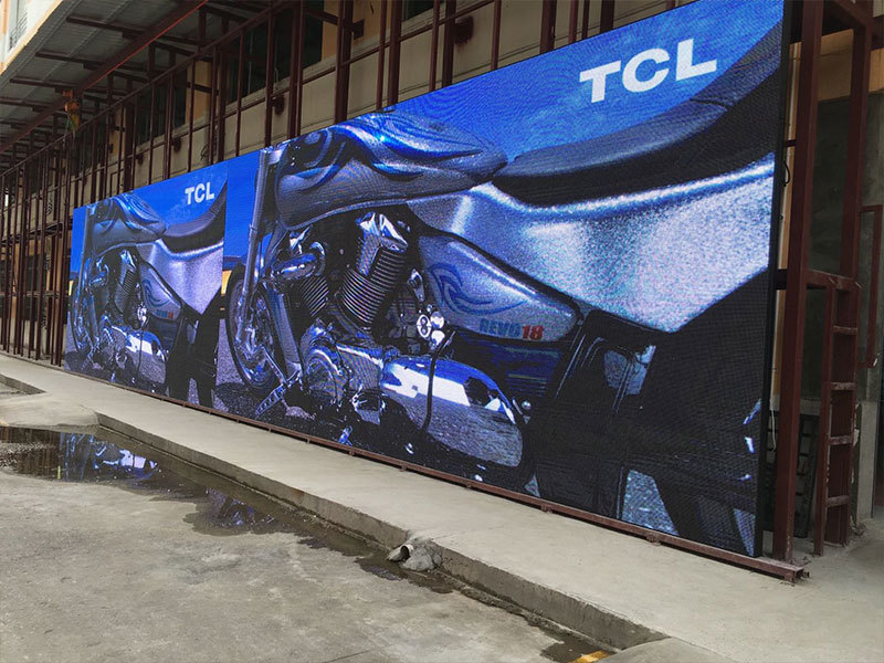 Thailand P5 Led display ,Size total 24 sq.m. for one of shopping center in Thailand
