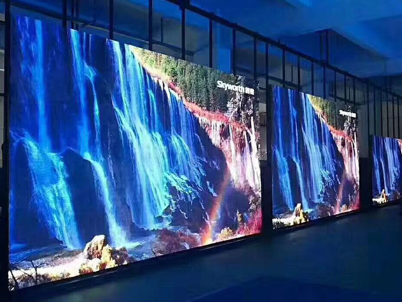 Italy P3.91 outdoor Led screen commercial activity event Size total 12 sq.m. for commercial activity event in Itlay