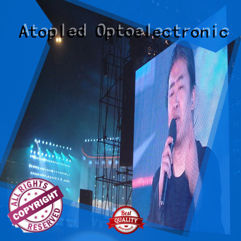 Atop quality big led screen with reliable quality in market