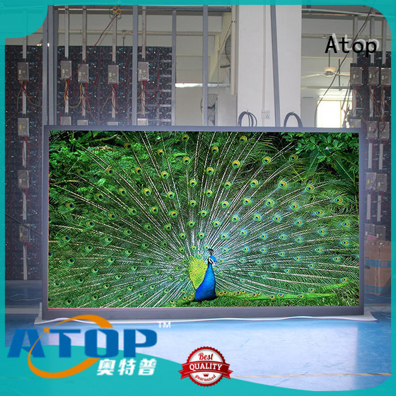 Atop highprecision screen display in strict accordance with relevant national standards for LED screen