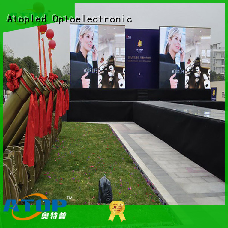 anti-interference commercial led display screen universality with reliable quality in market