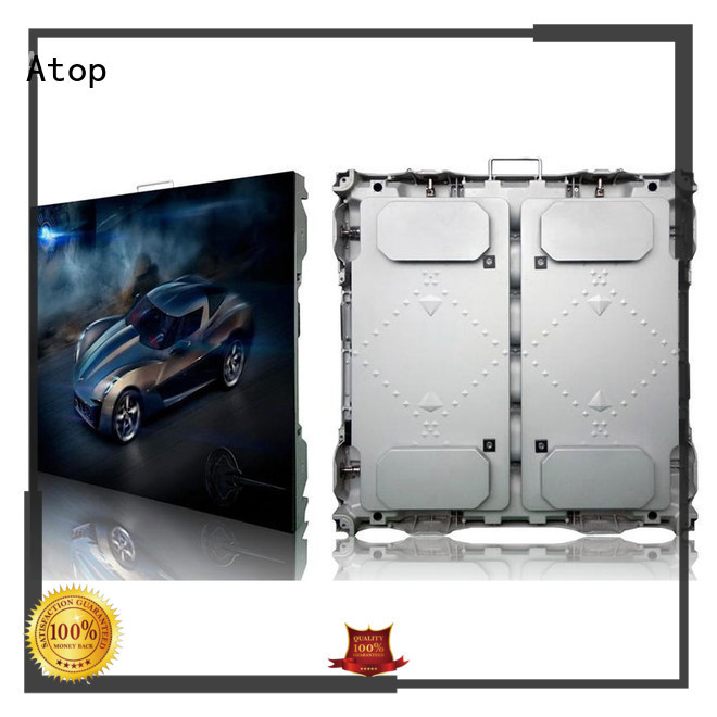 high-strength led display signs advertising with high precision for company advertising