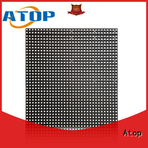 Atop universality led screen wall with high precision for company advertising