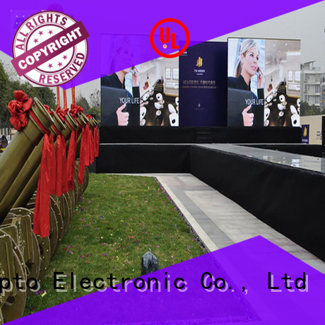 Atop hd led rental screen easy assembling for your led display applications