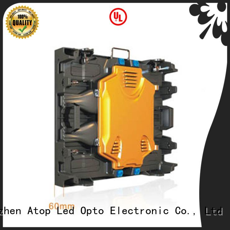 high quality rental led screen light easy maintenance in market