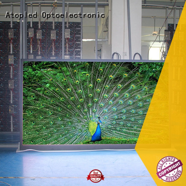 high-quality led video screen rental billboard in strict accordance with relevant national standards for LED screen