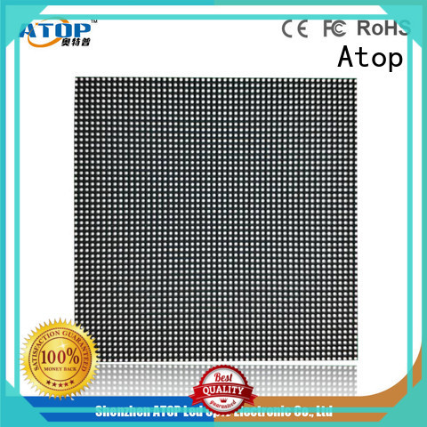 rental led screen alloy for company advertising Atop