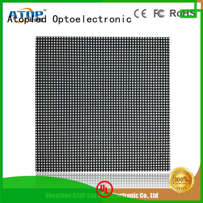 aluminum big led screen quality in market Atop