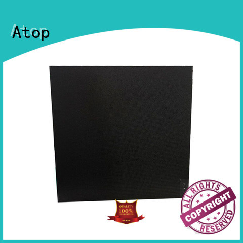 Atop definition led wall with high-quality for indoor rental led display