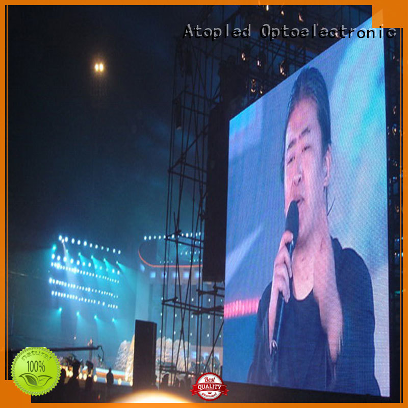 high quality stadium led display screen rental with high precision for both outdoor and indoor