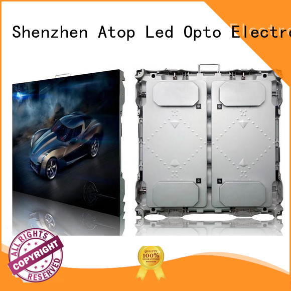 antiinterference outdoor led display screen with high precision for company advertising