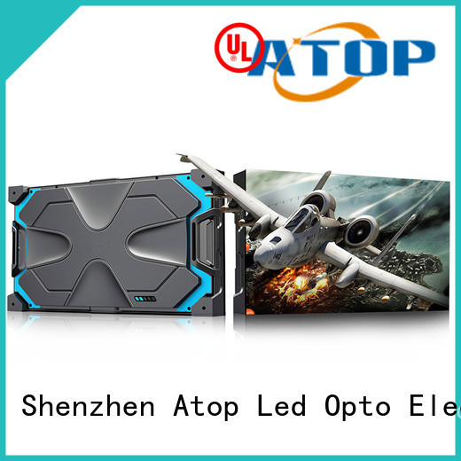 Atop highprecision indoor led panel easy assembling for your led display applications