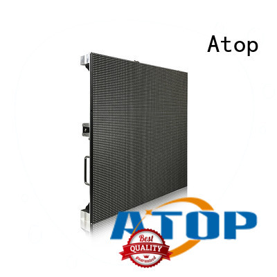 Atop smd led rental display with high-quality