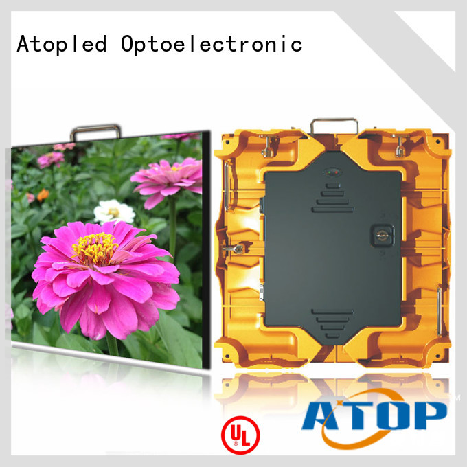Atop panels custom led display with high-quality