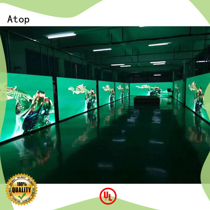 high-quality digital billboard advertising color in strict accordance with relevant national standards for LED screen