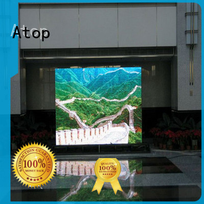 Atop good consistency led advertising screen with reliable driving IC for advertising
