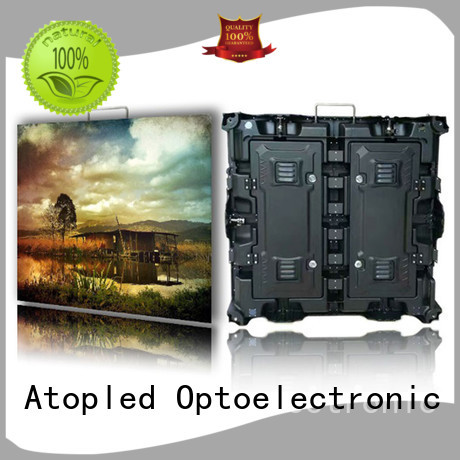 Atop excellent indoor led video wall easy assembling for LED screen