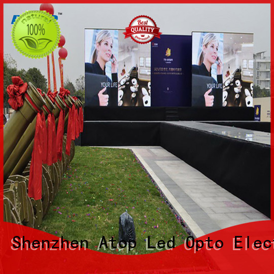 Atop excellent rental led display screen easy assembling
