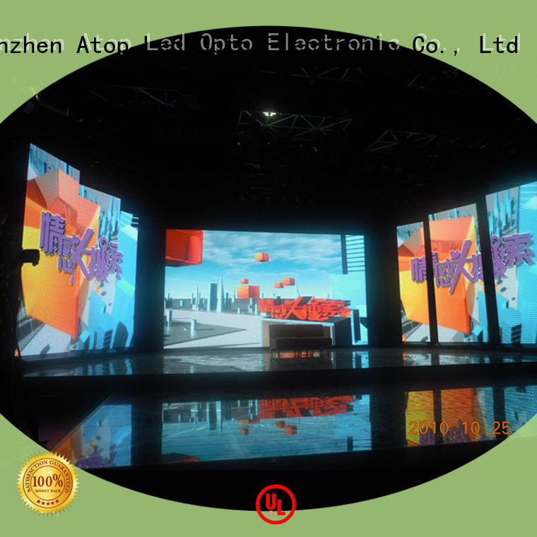 Atop high-quality indoor led display screen in strict accordance with relevant national standards