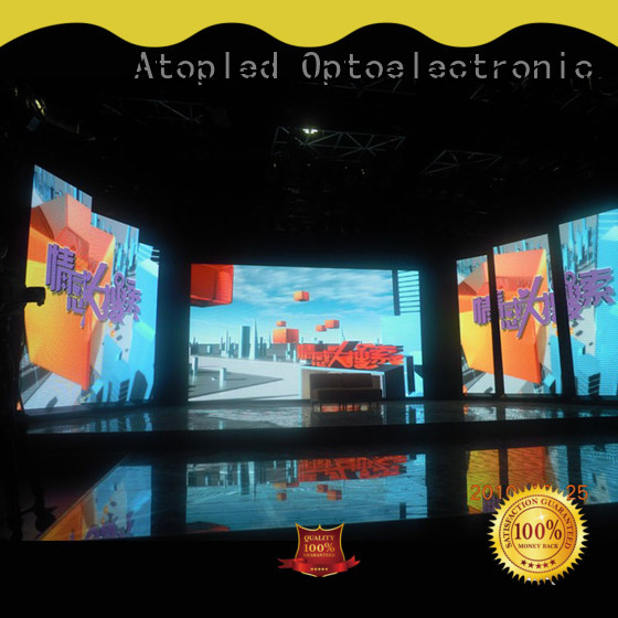 Atop stage 2x2 video wall in strict accordance with relevant national standards for your led display applications