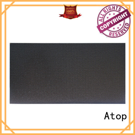 Atop high quality led module to meet different need for indoor rental led display