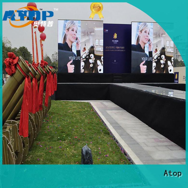 custom digital advertising board perimeter easy maintenance for both outdoor and indoor