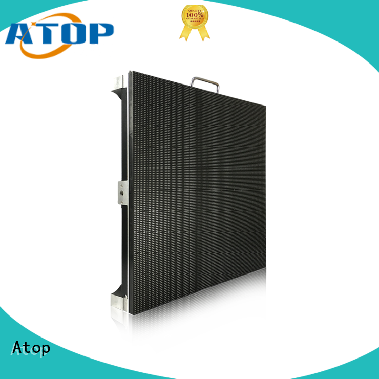 Atop sale led video panel in strict accordance with relevant national standards for LED screen