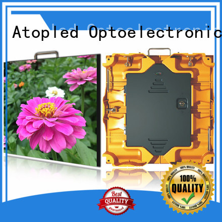 Atop antiinterference outdoor led panel with high precision in market