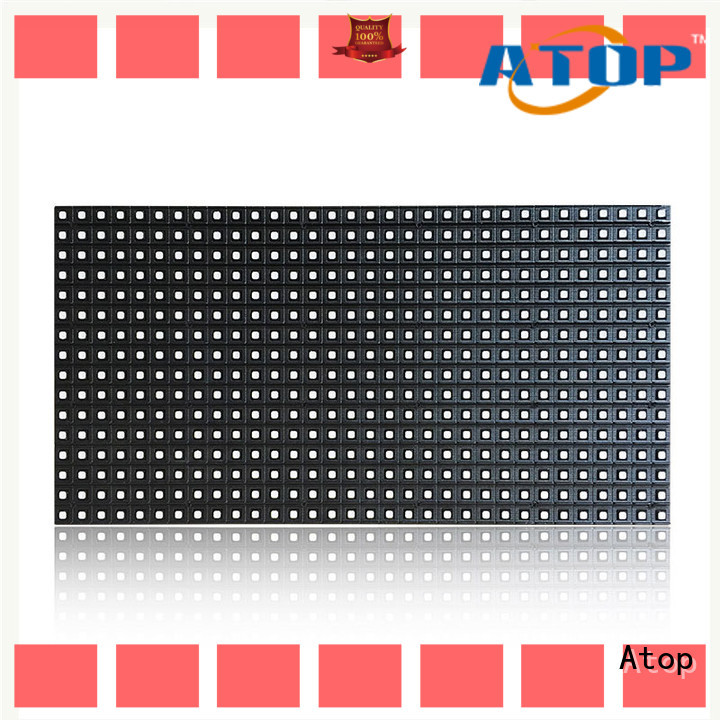 Atop perimeter led screen wall with high precision in market