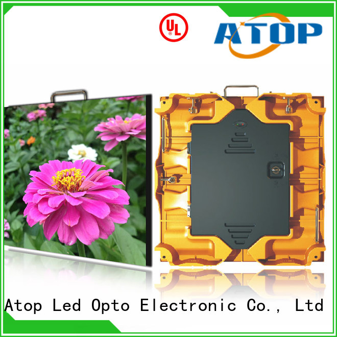 Atop excellent indoor led display easy assembling for indoor rental led display