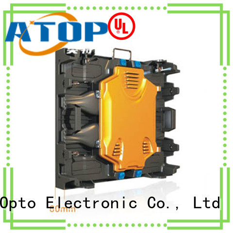 Atop automatically rental led panel with reliable quality for company advertising